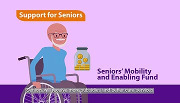Seniors' Mobility and Enabling Fund (SMF)