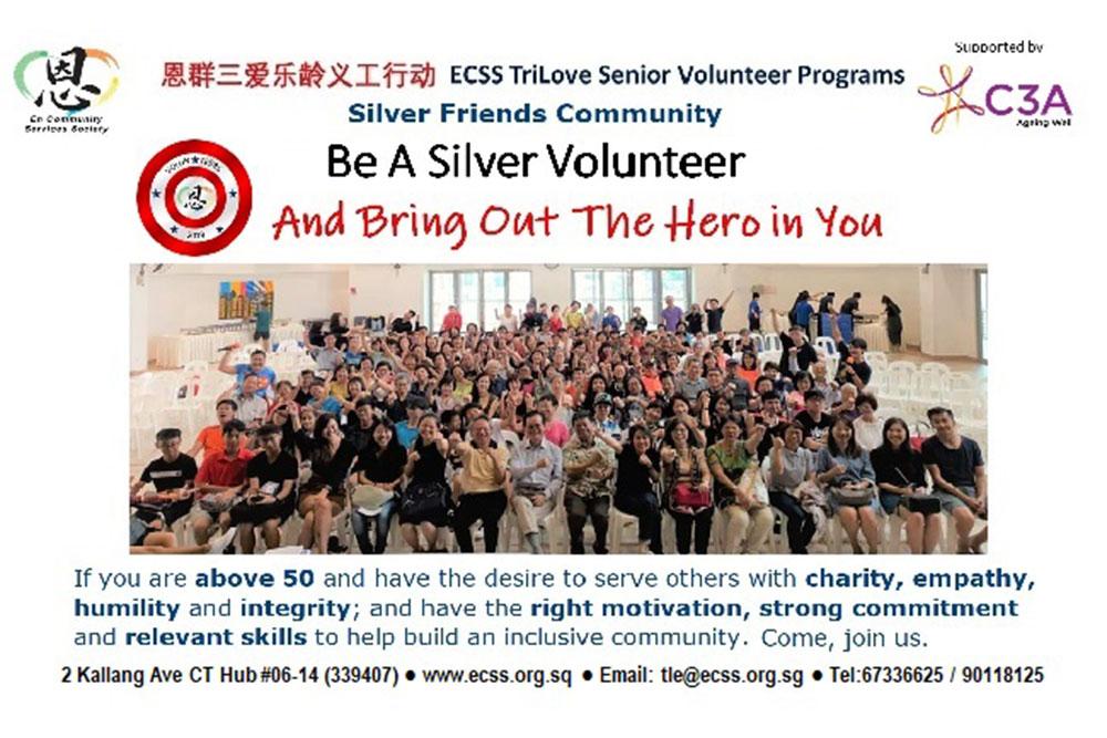 Interested in volunteering? - Silver Friends Community (SFC) Volunteer Programme