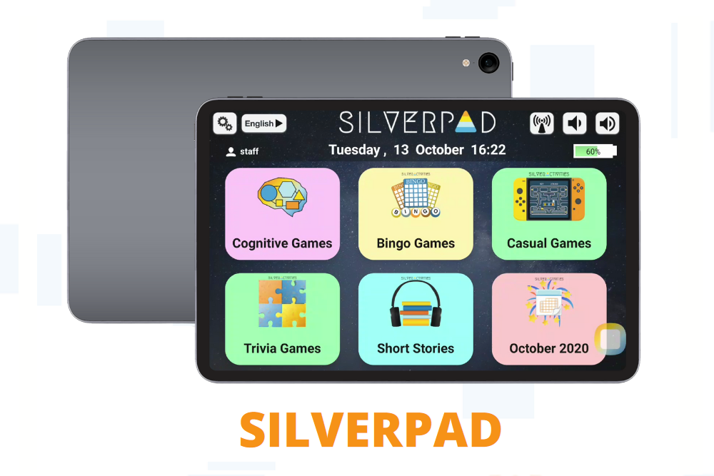 SilverPad – Easy Tablet For Seniors