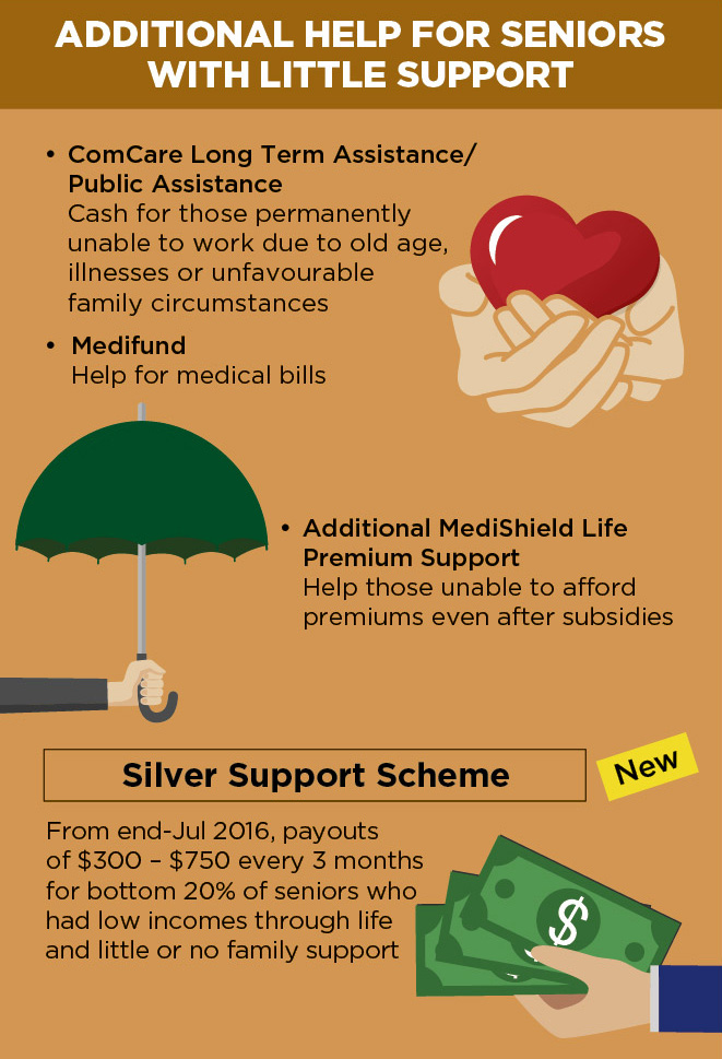 Caring for Seniors - Additional Help for Seniors with Little Support