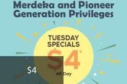Merdeka and Pioneer Generation Privileges