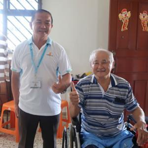 Mr Tan Eng Cheow, 65