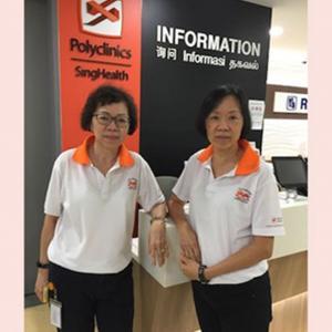 Ms Jenny, 65 & Ms Wendy, 68